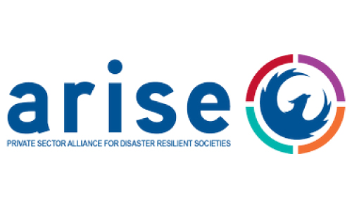 Logo for Arise - Private Sector Alliance for Disaster Resilient Societies